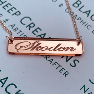 Plated Necklace