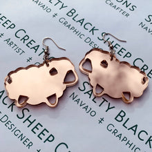Load image into Gallery viewer, Mirror Sheep Earrings