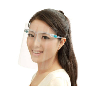 Face Shield & Glasses - Set of 3 (1 frame, 2 shield plates in each set)