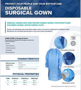 Level 2 Surgical Gown