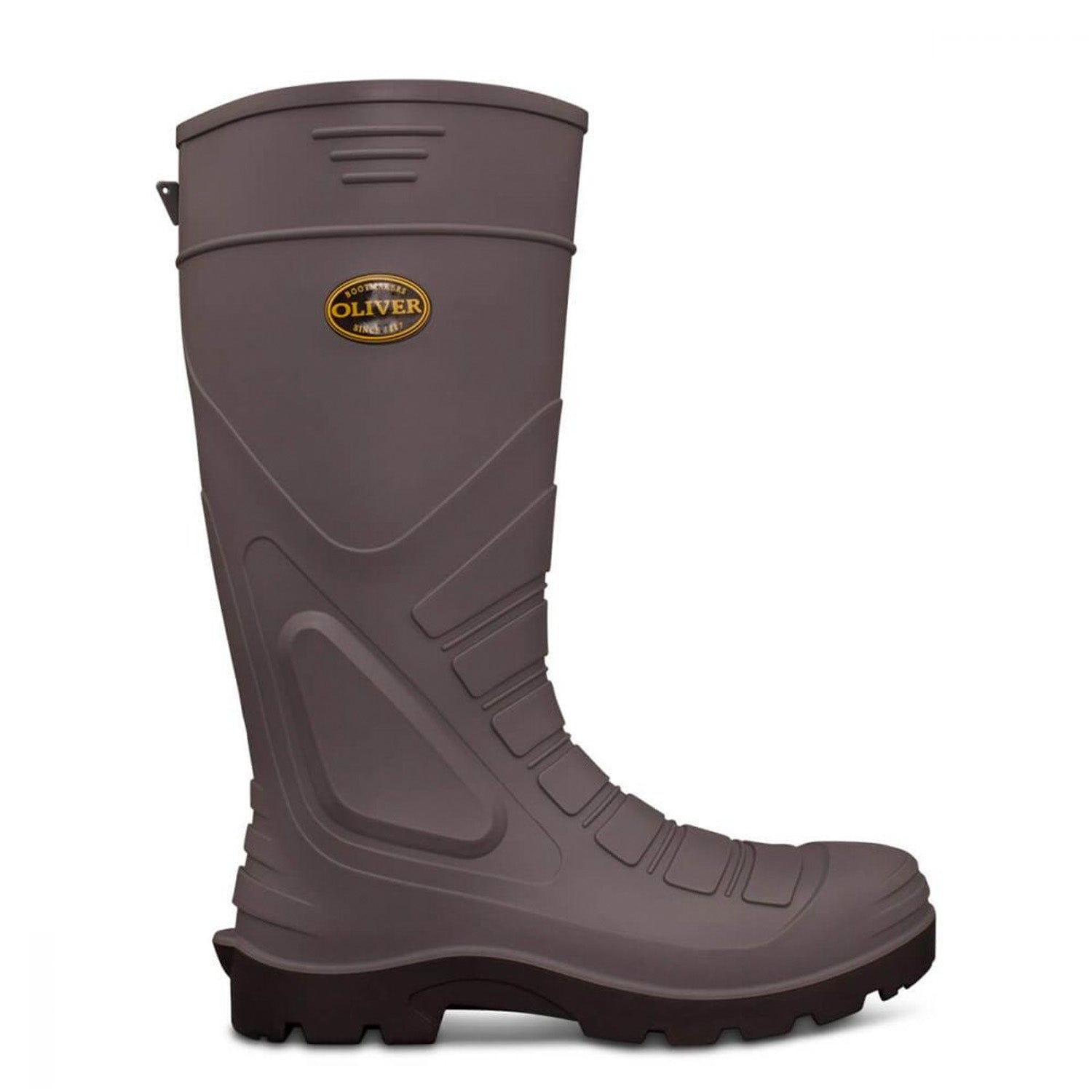 OLIVER SAFETY GUMBOOT - GREY