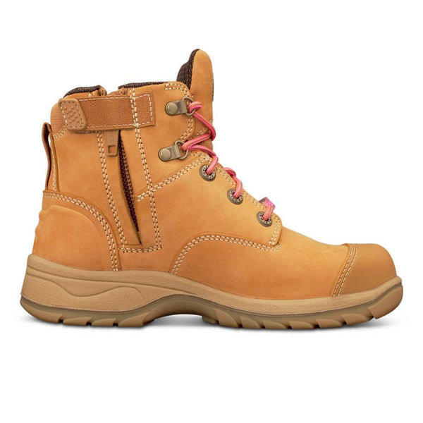 OLIVER 49 SERIES WOMENS ZIP SIDED BOOT WHEAT