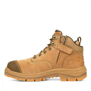 OLIVER 130MM STONE ZIP SIDED HIKER BOOT