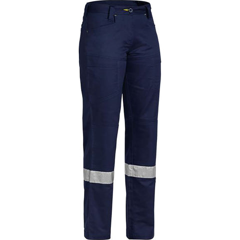 BISLEY WOMENS 3M TAPED X AIRFLOW RIPSTOP VENTED PANT NAVY