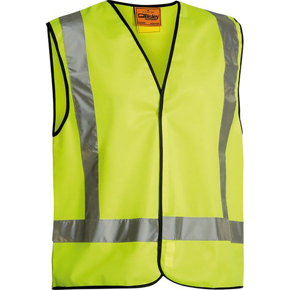 BISLEY X TAPED HI VIS VEST YELLOW