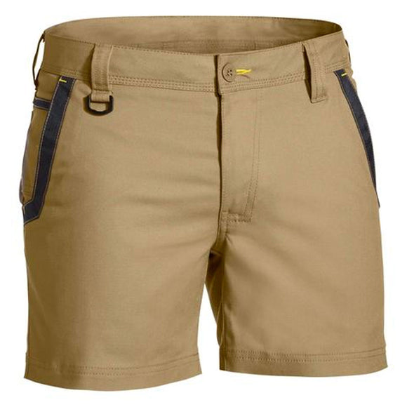 BISLEY FLEX & MOVE SHORT SHORTS KHAKI
