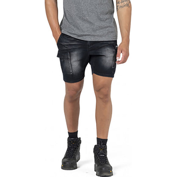 CAT DENIM DIESEL SHORT BLACK