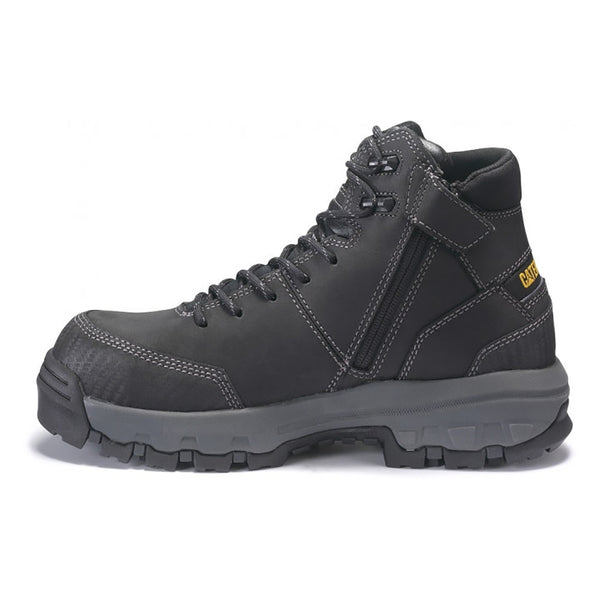 CAT DEVICE ZIP WATERPROOF CT BOOT BLACK