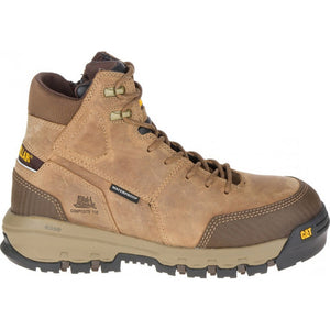 CAT DEVICE ZIP WATERPROOF CT BOOT DARK BEIGE