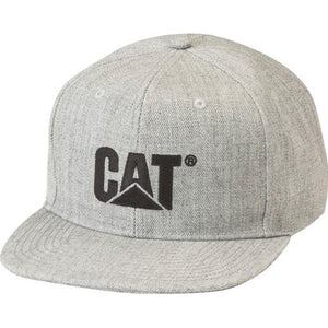 CAT SHERIDAN FLAT BILL CAP HEATHER GREY