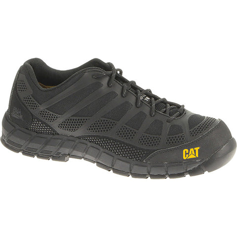 CAT STREAMLINE COMPOSITE TOE SHOE BLACK