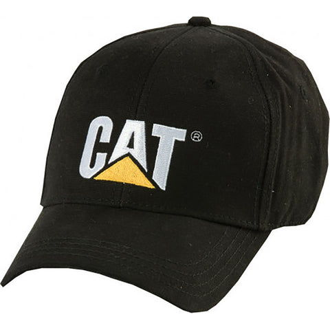 CAT TRADEMARK CAP BLACK