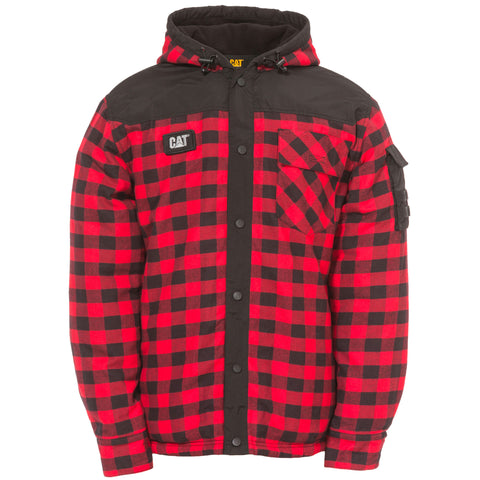 CAT SEQUOIA SHIRT JACKET RED