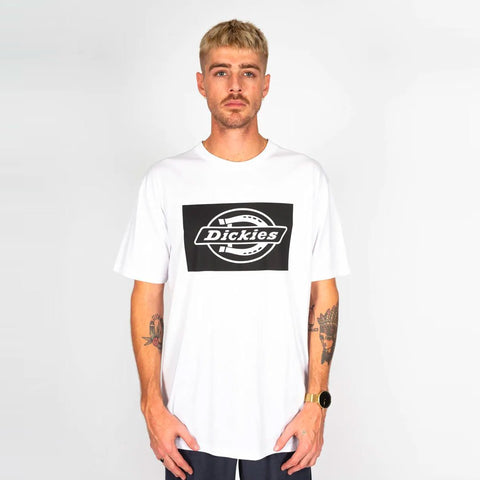 DICKIES HS STINTON CLASSIC FIT SS TEE WHITE