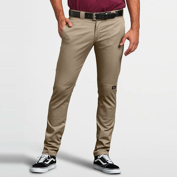 DICKIES - 811 SKINNY DOUBLE KNEE PANTS - DESERT SAND