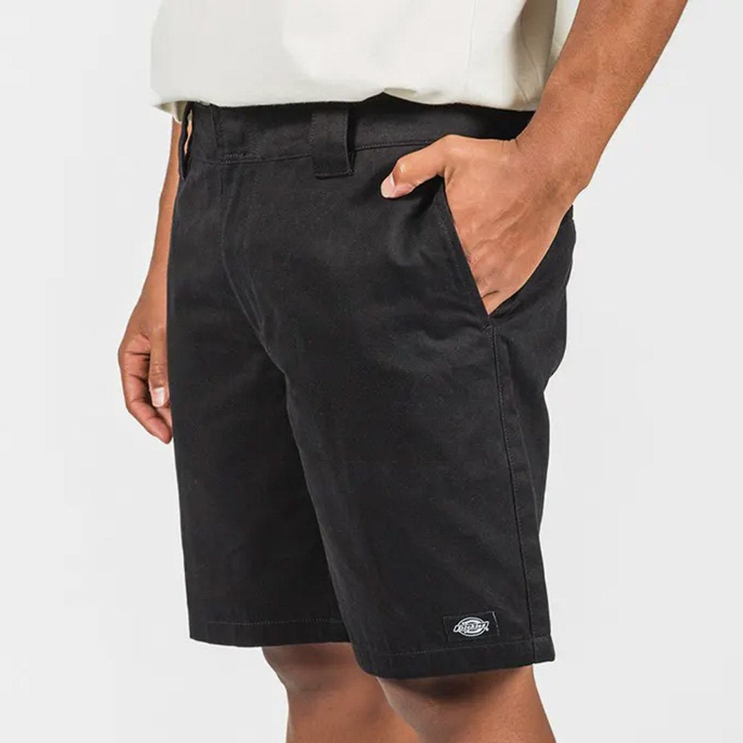 "DICKIES C182 9"" REGULAR SHORTS BLACK"
