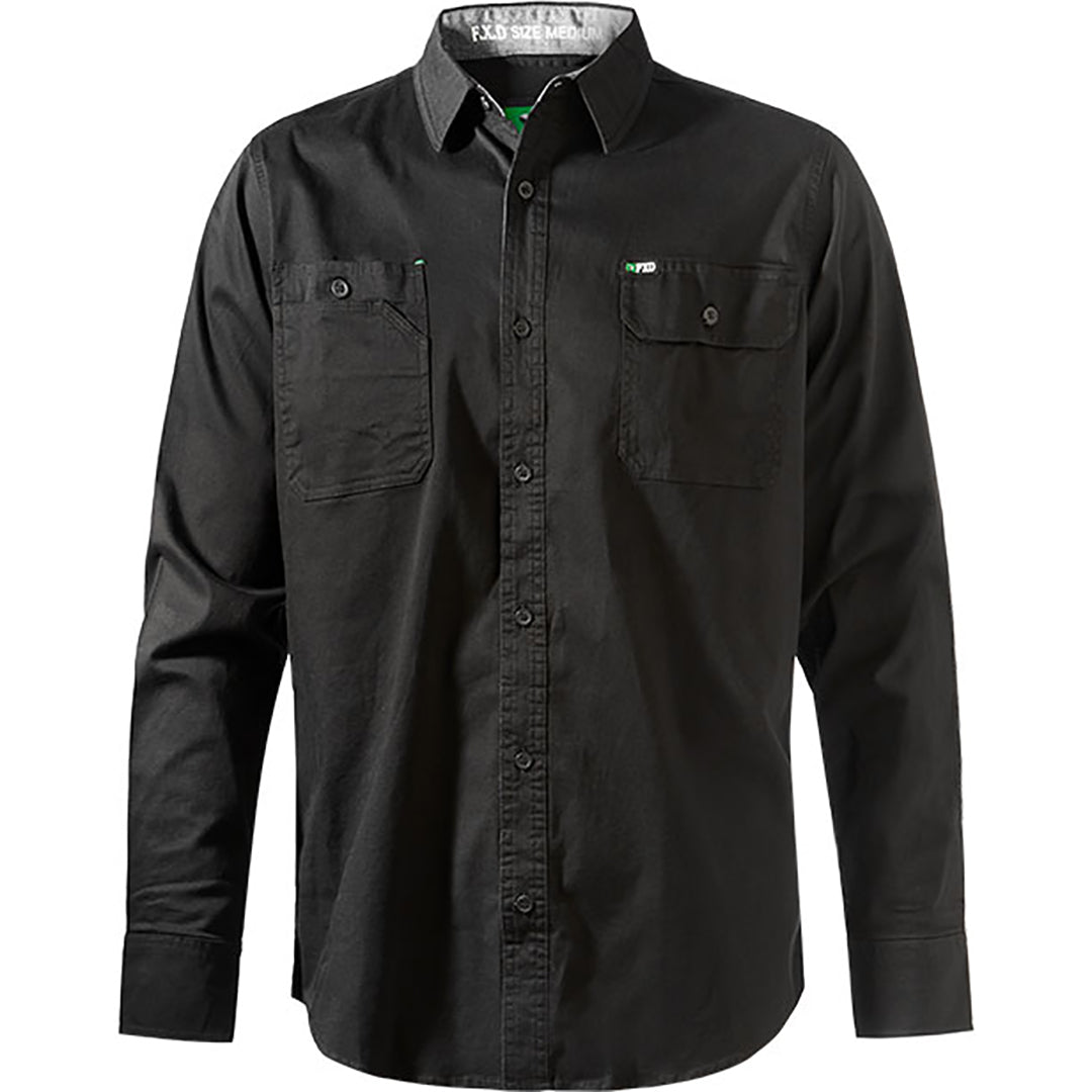 FXD LSH-1 WORK SHIRT BLACK
