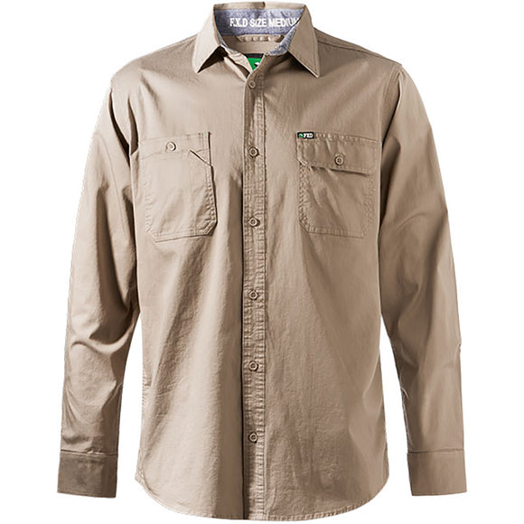 FXD LSH-1 WORK SHIRT KHAKI