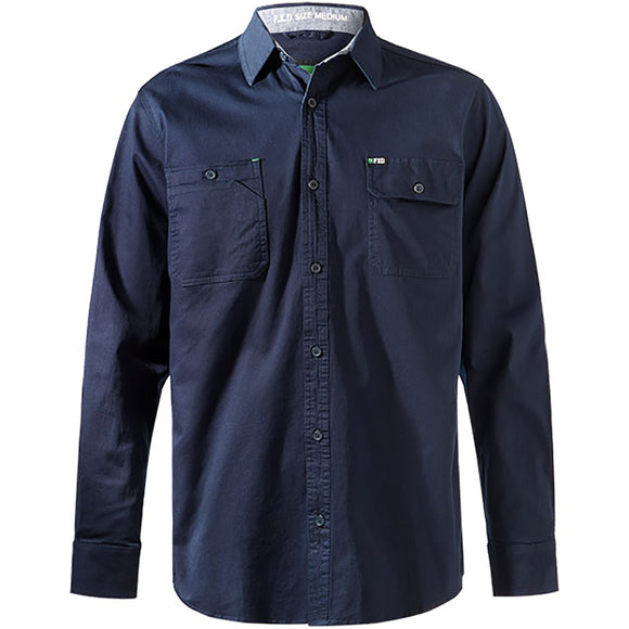FXD LSH-1 WORK SHIRT NAVY