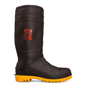 OLIVER KING'S SAFETY GUMBOOT - BLACK