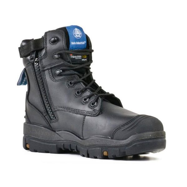 BATA INDUSTRIALS - HELIX LONGREACH ZIP - BLACK