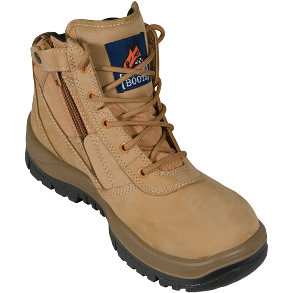 MONGREL N ZIPSIDER BOOT WHEAT