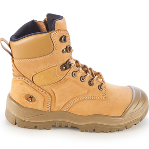 MONGREL WHEAT H/LEG ZIP BOOT WITH SCUFF CAP