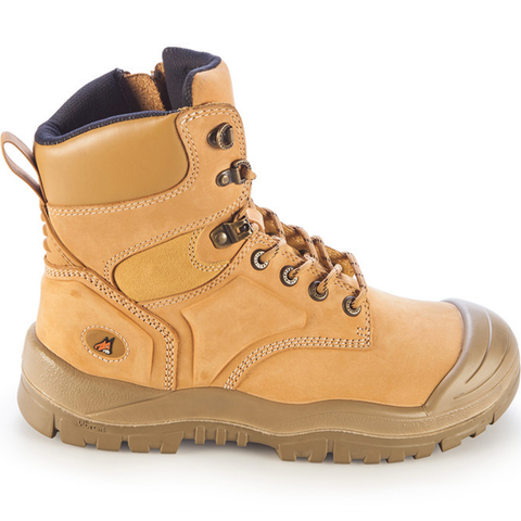 MONGREL - WHEAT H/LEG ZIP BOOT S/C - 10