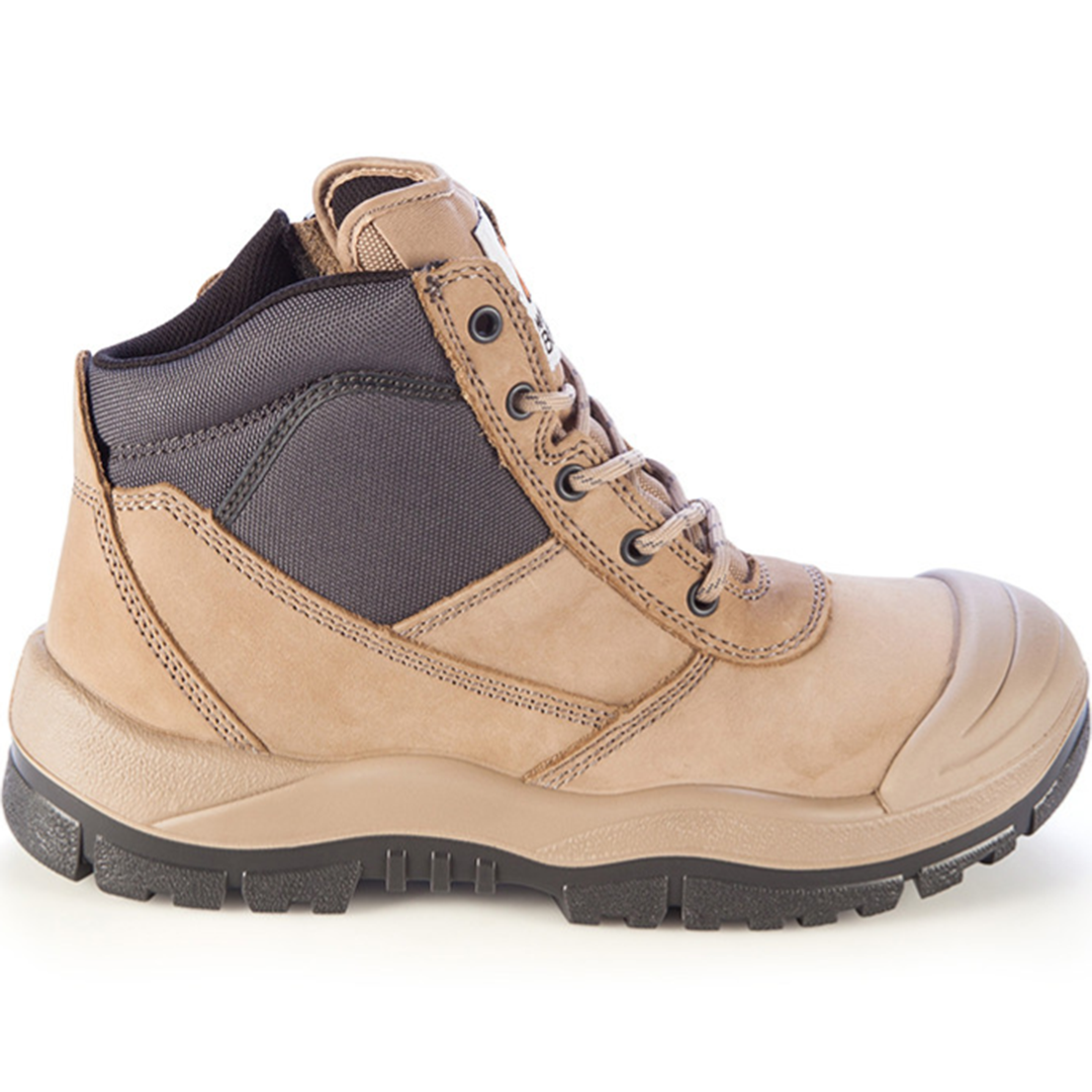 MONGREL SC ZIPSIDER BOOT STONE