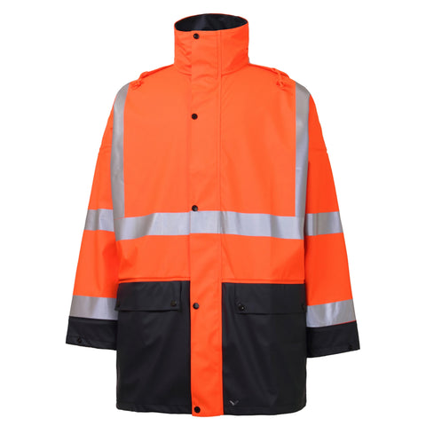 RAINBIRD STORM JACKET SS IWS ORANGE/NAVY