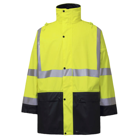 RAINBIRD SHELTER JACKET YELLOW/NAVY