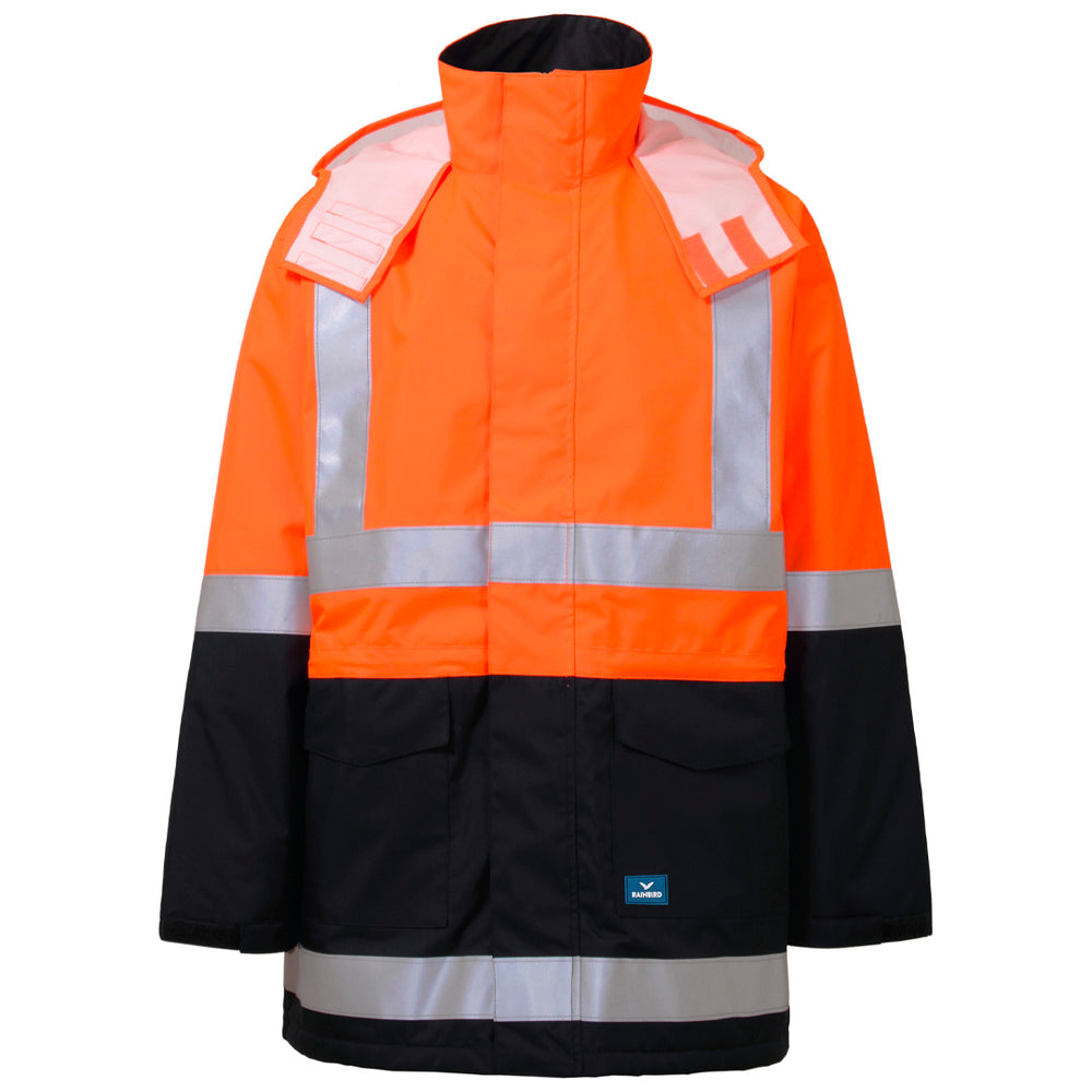 RAINBIRD SENTINEL JACKET ORANGE/NAVY