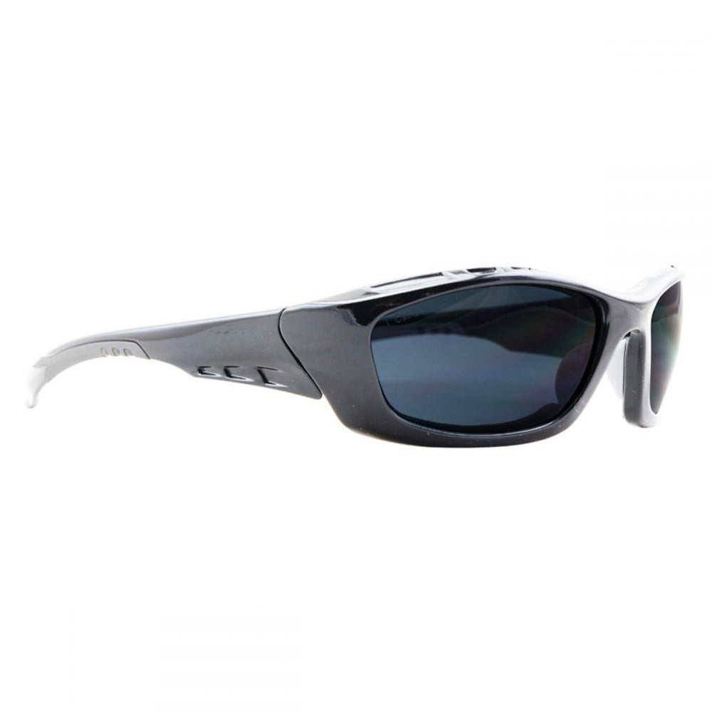 SUMMIT POLARISED SAFETY GLASSES BLACK FRAME