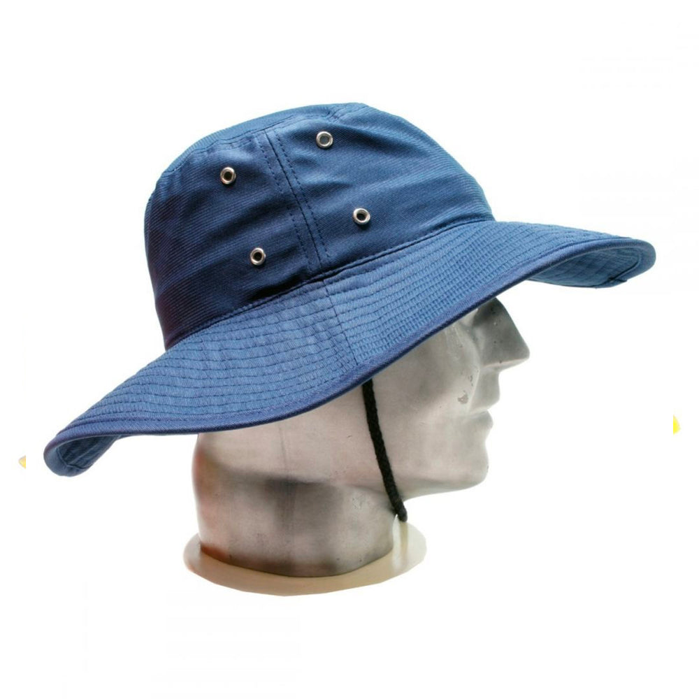 BROAD BRIM HAT - TOGGLE - NAVY BLUE
