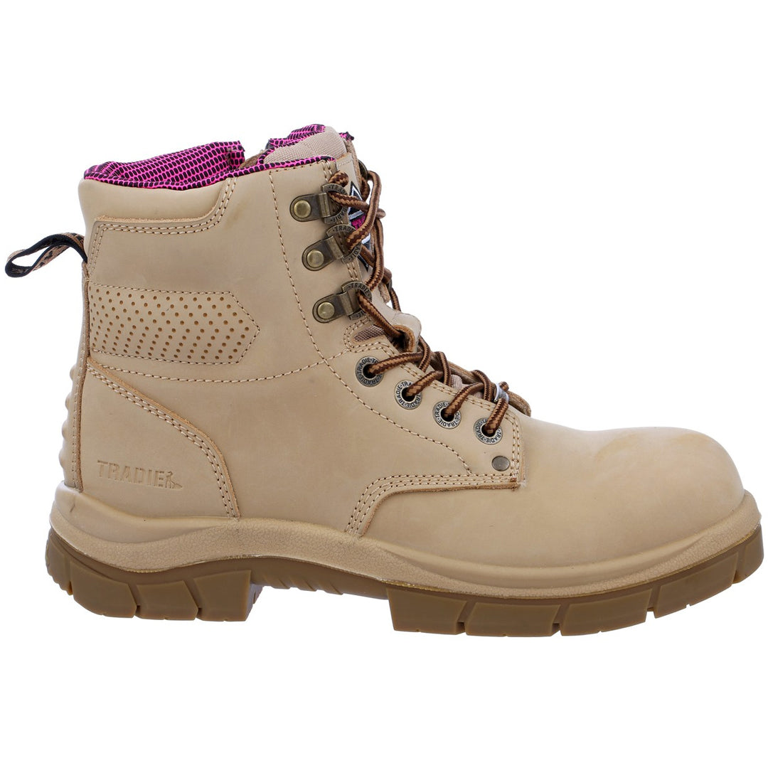 TRADIE THE BOSS WOMENS BOOTS SAND