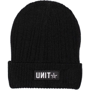 UNIT CAPE BEANIE BLACK