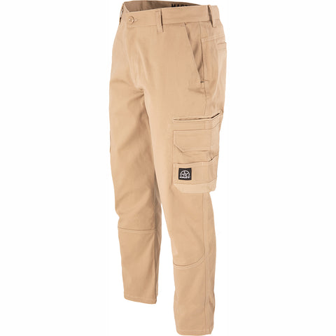 UNIT DEMOLITION CARGO WORK PANTS KHAKI
