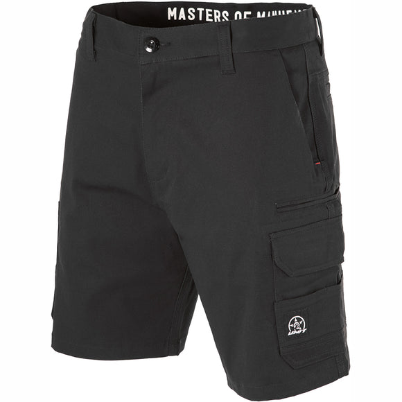 UNIT DEMOLITION CARGO WORK SHORTS BLACK (+ FREE UNIT CAP)