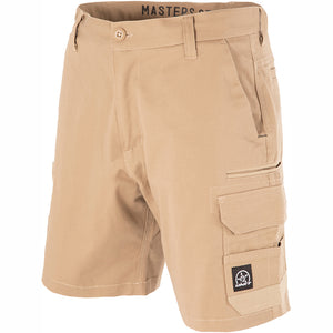 UNIT DEMOLITION CARGO WORK SHORTS KHAKI