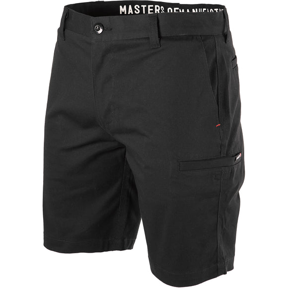UNIT IGNITION WORK SHORTS BLACK