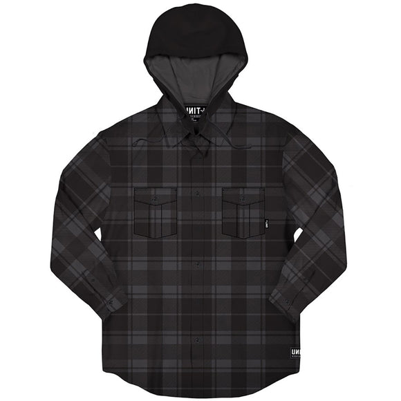 UNIT KENTUCKY SHIRT CHARCOAL