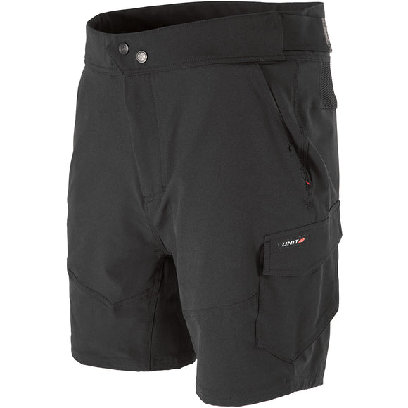 UNIT RAPID FLEX WORK SHORTS BLACK