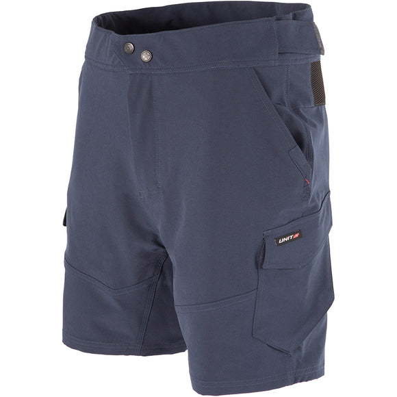 UNIT RAPID FLEX WORK SHORTS NAVY
