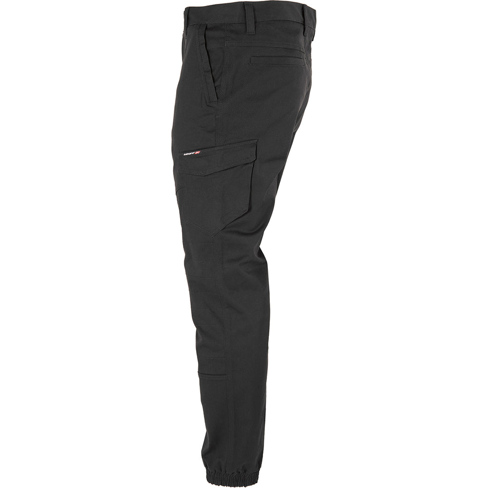 UNIT SURGE CUFFED WORK PANTS BLACK