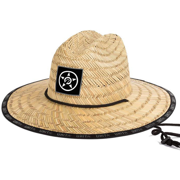 UNIT TRICE STRAW HAT NATURAL