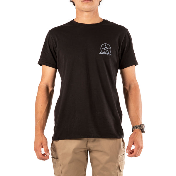UNIT UPHOLD TEE BLACK