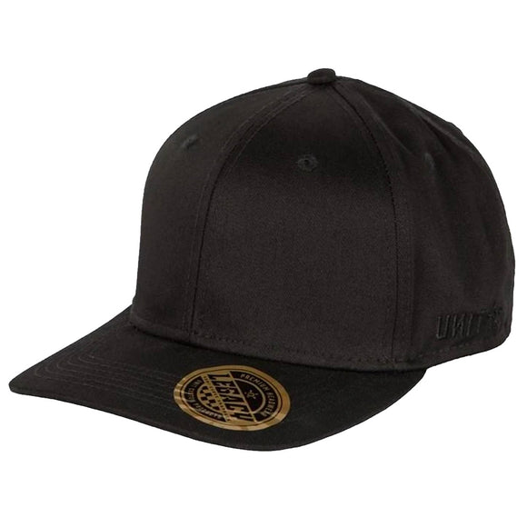UNIT LEGACY SNAPBACK CAP BLACK