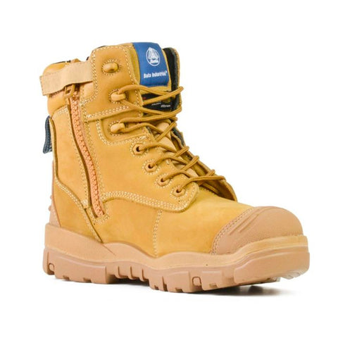 BATA INDUSTRIALS HELIX LONGREACH ZIP WHEAT (small sizes for women)