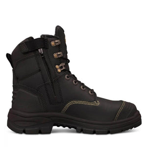 OLIVER 55 SERIES 150MM ZIP SIDED BOOT BLACK