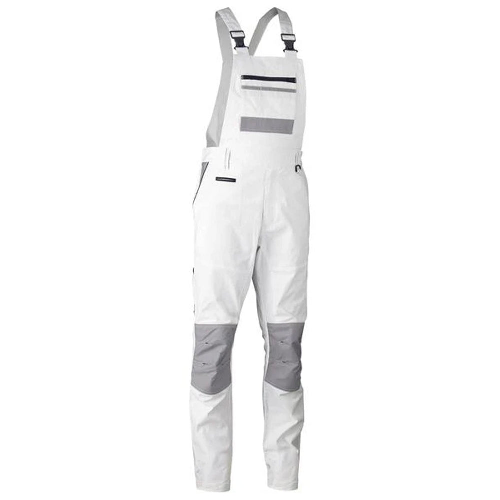 BISLEY PAINTERS CONTRAST BIB & BRACE OVERALL WHITE